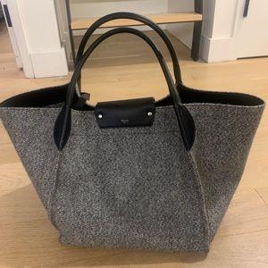 Celine Wool Fabric Medium Bag 100% Authentic